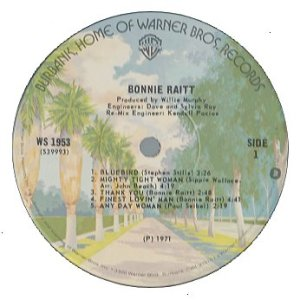 BonnieRaitSame1971Label