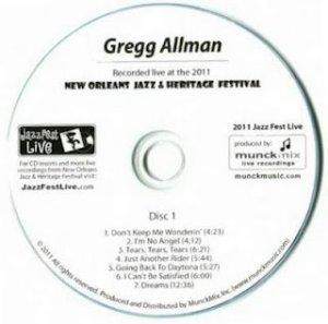 GreggAllmanJazzFestLiveCD