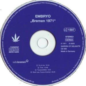 EmbryoBremenCD