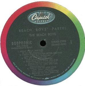 BeachBoysParty!Label