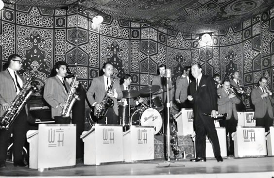 Live at the Gezira Sporting Club. Cairo, Egypt, 1966