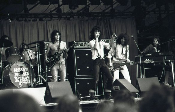 Heavy Metal Kids live at the Reading Festival, 1974