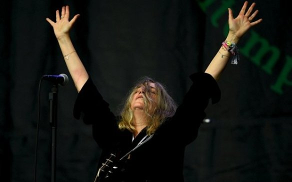 PattiSmithGlastonbury2015