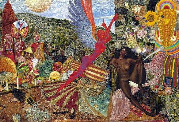 Annunciation - Mati Klarwein - 1961