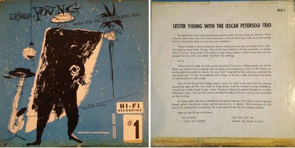 Front + backcover of the first EP (1952)