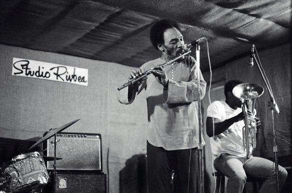 Sam Rivers and Joe Daley NYC - July, 1976