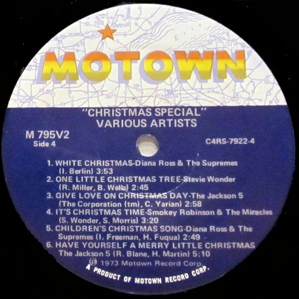 Various Artists – A Motown Christmas (1973 ...