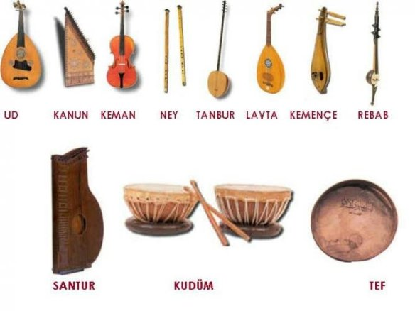 Traditional Turkish instruments1