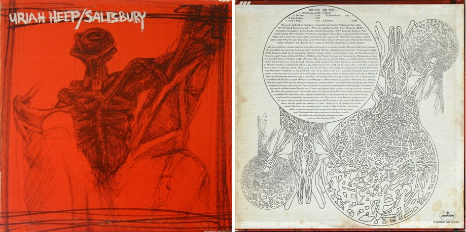 Uriah Heep Salisbury Expanded Deluxe Edition 1970 2003 Manyfantasticcolors