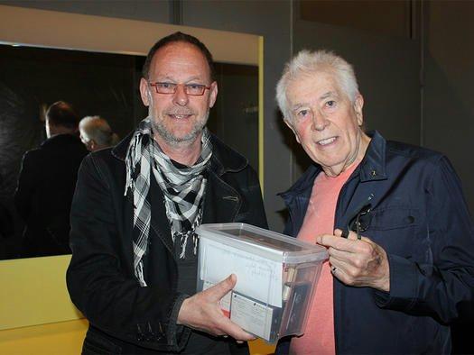 Tom Huissen + John Mayall