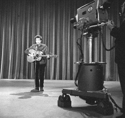 Bob Dylan On The Ed Sullivan Show