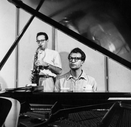 Musicians Dave Brubeck and Paul Desmond
