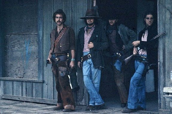 The Eagles Dressed as Cowboys