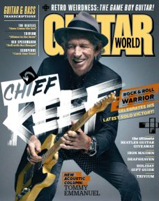 Guitar World Is A Monthly Music Magazine Devoted To Guitarists Published Since July 1980 It Contains Original Interviews Album And Gear Reviews