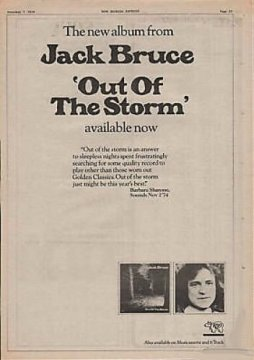 Out Of The Storm Ad