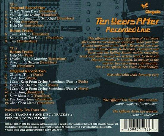 CDBackCover (Deluxe Edition)A