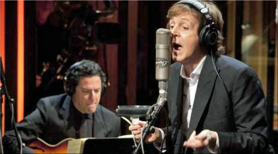 John Pizzarelli+Paul McCartney