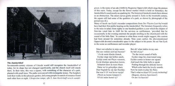 Eyck, Jacob van - Der Fluyten Lust-hof booklet 07A