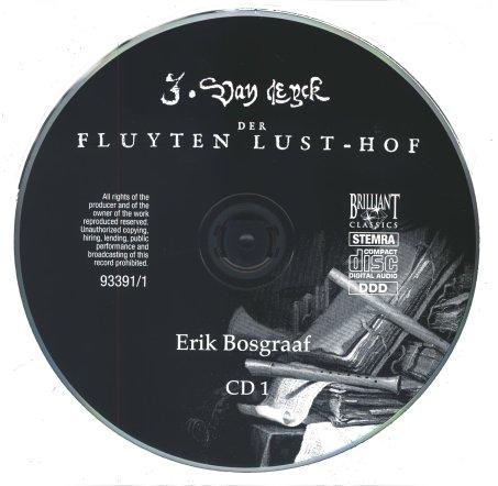 Eyck, Jacob van - Der Fluyten Lust-hof CD1A