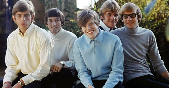 Herman's Hermits, Barry Whitwam, Keith Hopwood, Peter Noone, Karl Green, Derek Leckenby, circa early