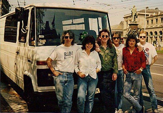 MickClarkeBand1991