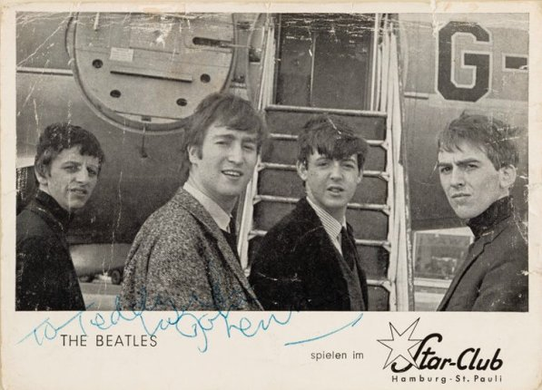 Beatles PromoCard1962