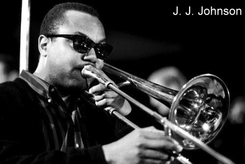 J.J. Johnson with trombone