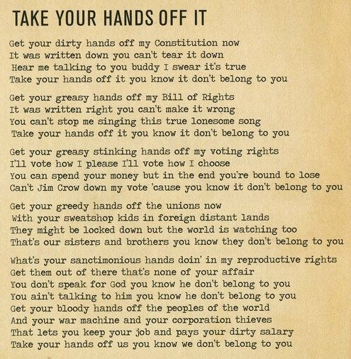 Take Your Hands Off It