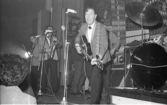 Rocksänger Bill Haley and The Comets